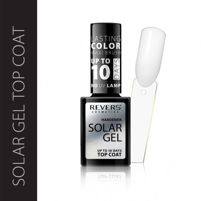 Nail polish SOLAR GEL The effect of a hybrid nail polish