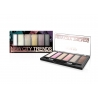 Cienie do powiek NEW CITY TRENDS, PROFESSIONAL EYESHADOW PALETTE