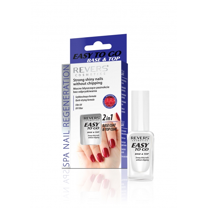 EASY TO GO 2w1 MANICURE HAS NEVER BEEN EASIER