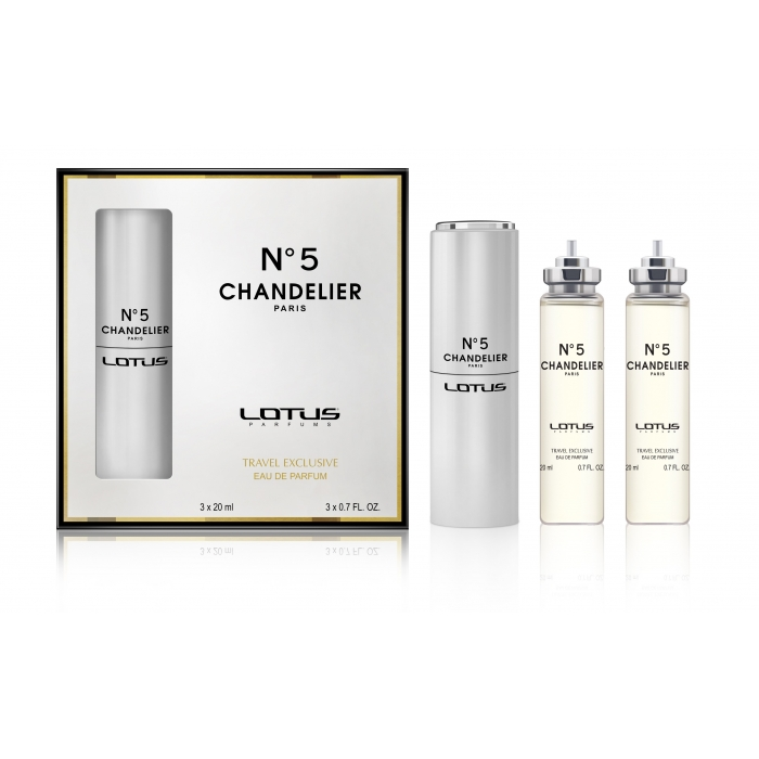 040 N5 Chandelier Paris 3 x 20 ml