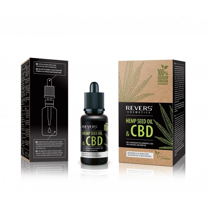 100% Natural CBD hemp oil is obtained from hempseed