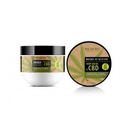 Maska do włosów z naturalnym olejem konopnym z CBD