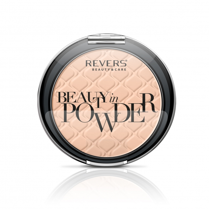 Puder prasowany Beauty in powder GLAMOUR