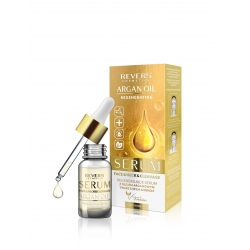 Regenerating serum for daily care of face, neck and cleavage - argan oils