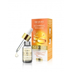 Brightening serum for daily care of face, neck and cleavage - vitamin C