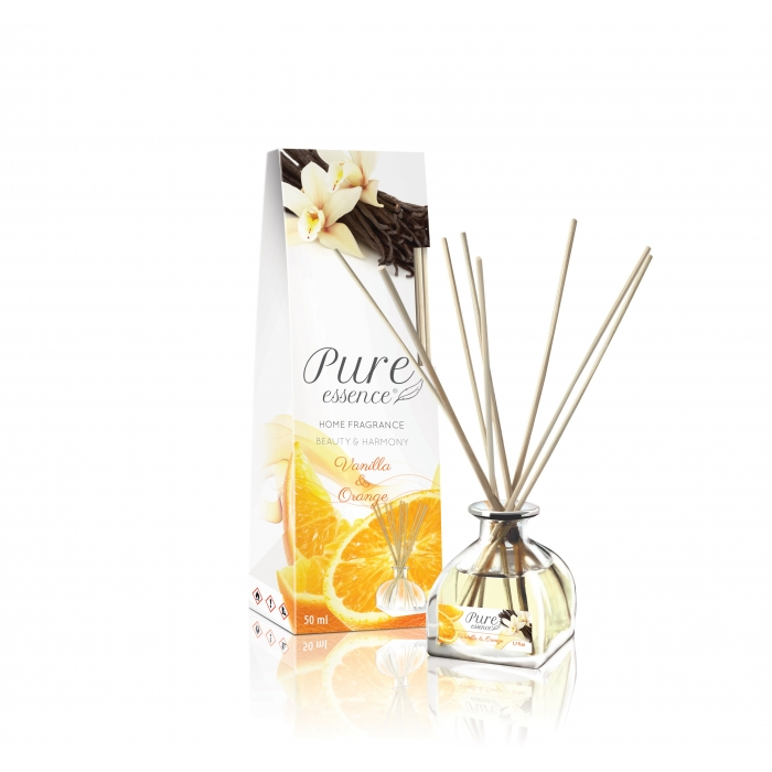 Pure essence fragrance diffuser VANILLA & ORANGE